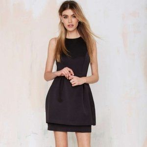 NWT Keepsake Counter Attack Black Cocktail Dress